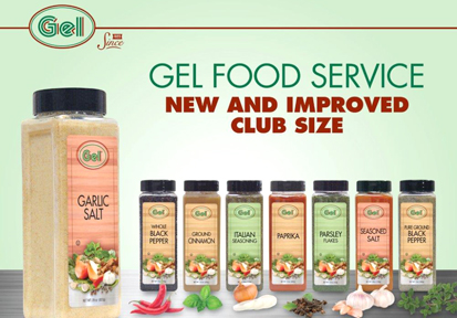 Food Service at Gel Spice Company, Located in Bayonne, NJ